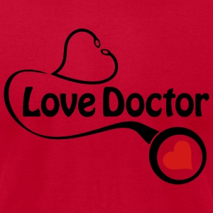 love doctor - Men's T-Shirt by American Apparel