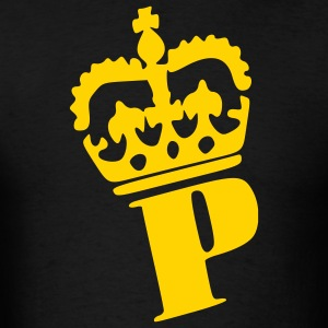 Black Prince - Crown - King - Princess - Queen Men - Men's T-Shirt