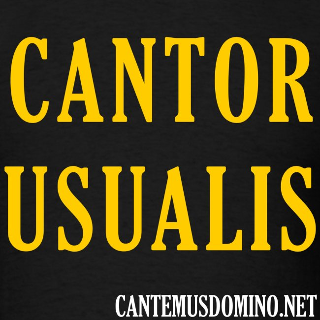 Cantor Usualis (CantemusDomino.net)