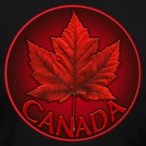 Women's Canada Souvenir Shirt Jersey Maple Leaf Canada Top - Women's Long Sleeve Jersey T-Shirt