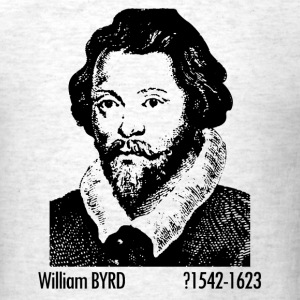 William Byrd Portrait - Men's T-Shirt