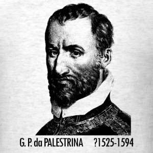 Giovanni Pierluigi da Palestrina Portrait - Men's T-Shirt