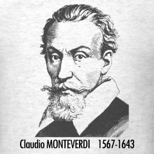 Claudio Monteverdi Potrait - Men's T-Shirt