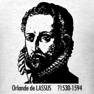 Lassus Portrait - Men's T-Shirt