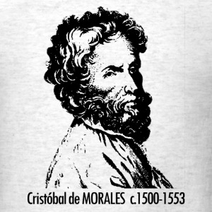 Cristobal de Morales Portrait - Men's T-Shirt