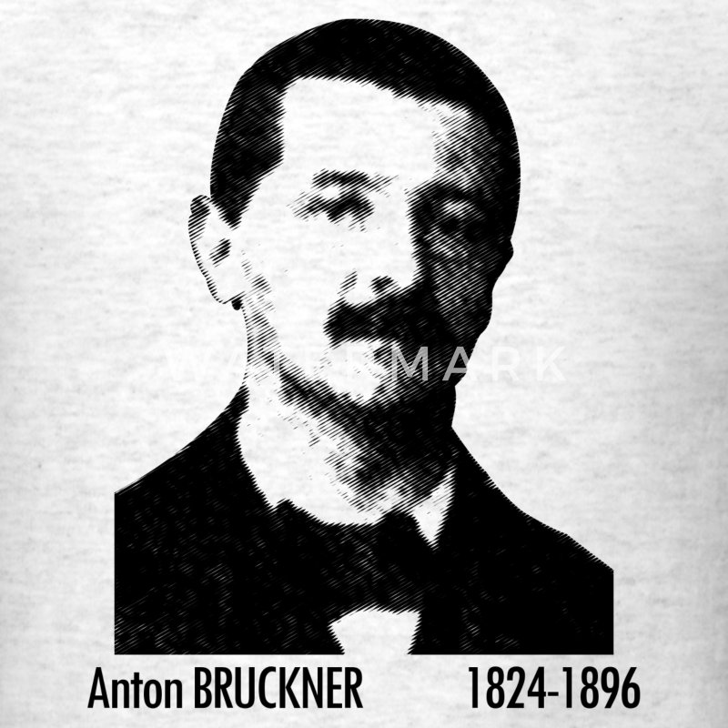 Anton Bruckner Portrait - Men's T-Shirt