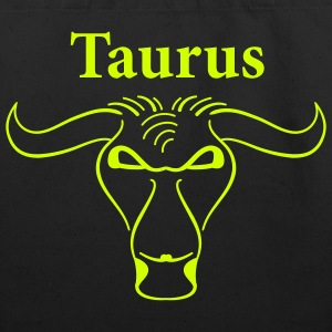 Black taurus_shirt Accessories - Eco-Friendly Cotton Tote