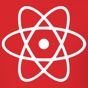 Red Atom - Engineer - Physics - Energy Men - Men's T-Shirt