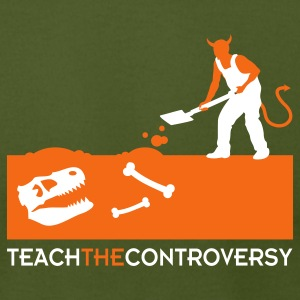 Devil Bones (Teach the Controversy) T-Shirts - Men's T-Shirt by American Apparel