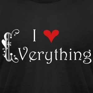 I love Everything - Men's T-Shirt by American Apparel