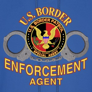 U.S. Border Enforcement Agent - Men's Hoodie