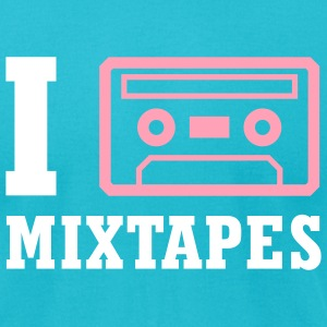 Mixtape Love - Men's T-Shirt by American Apparel
