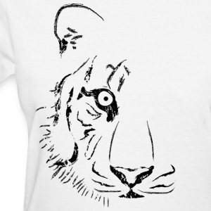 White Tiger (Alternate) Women - Women's T-Shirt
