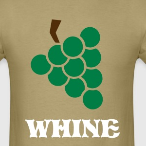 Khaki Grape - Bunch of grapes - Wine Men - Men's T-Shirt