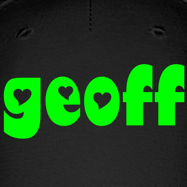 """Geoff for Worker-Owner Director"" Baseball Cap"