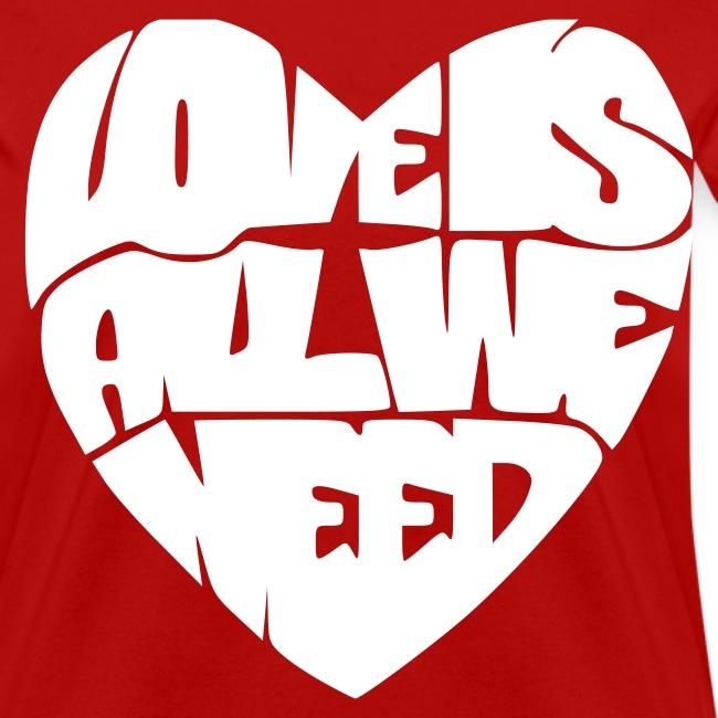 Love is all we need velvet