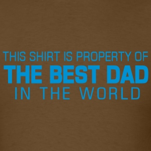 THE BEST DAD (Father's Day Gift) - Men's T-Shirt