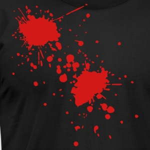 Black blood Men - Men's T-Shirt by American Apparel