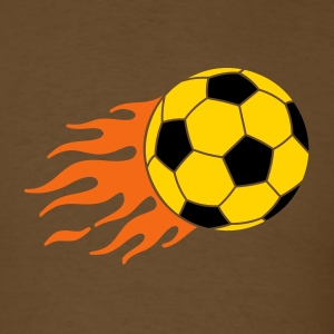 Brown burning ball Men - Men's T-Shirt