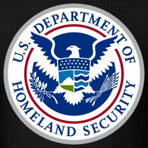 Homeland Security Logo - Men's T-Shirt