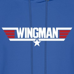 Royal blue Wingman Men