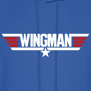 Royal blue Wingman Men - Men's Hoodie