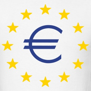 White Europe - EU - Euro - Stars Men - Men's T-Shirt