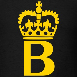 Black Crown - B – Name Men - Men's T-Shirt