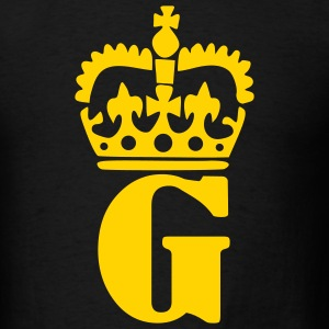 Black Crown - G – Name Men - Men's T-Shirt