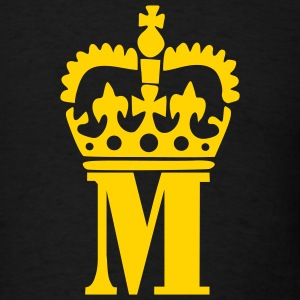 Black Crown - M – Name Men - Men's T-Shirt