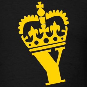Black Crown - Y – Name Men - Men's T-Shirt