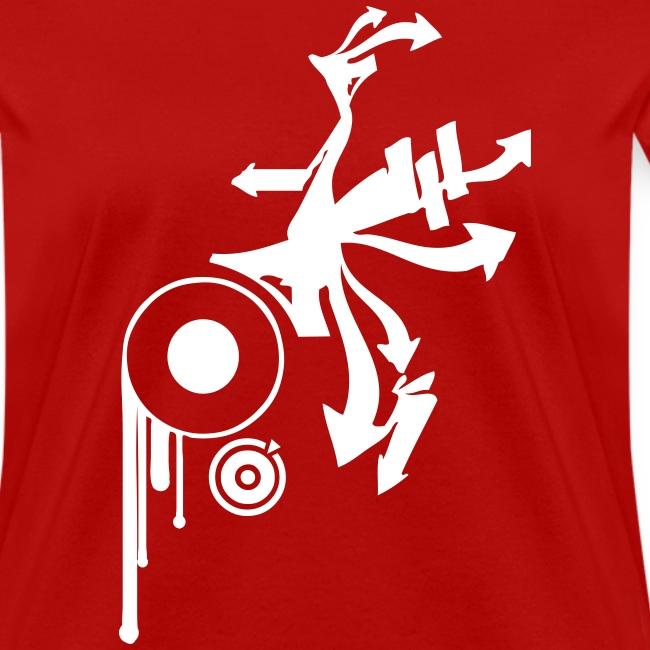 a733764393e8 Vintage Designer Tshirts.com | Awesome Graffiti Design on a Red T ...