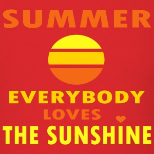 Red Summer - Everybody Loves The Sunshine Men - Men's T-Shirt