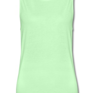 Forest green cannabis dope vegetarian T-Shirts (Short sleeve) - Women's Flowy Muscle Tank by Bella