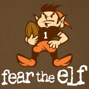 Fear The Elf Brown Tee - Men's T-Shirt
