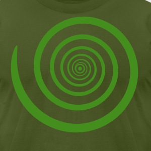 Olive Hypnosis Men - Men's T-Shirt by American Apparel