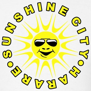 White sunshine_city_2col_t_11 T-Shirts (Short sleeve) - Men's T-Shirt