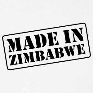 White made_in_zimbabwe2__t_11 T-Shirts (Short sleeve) - Men's T-Shirt