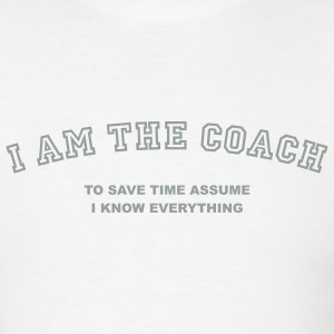 White coach_t_11 Men - Men's T-Shirt