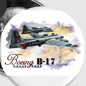 Boeing B-17 Buttons - Large Buttons