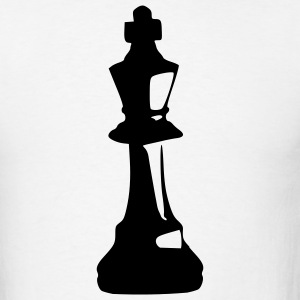White Chess – King Men - Men's T-Shirt
