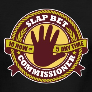 Slap Bet Commissioner - Men's Ringer T-Shirt