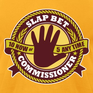Slap Bet Commissioner - Men's T-Shirt by American Apparel