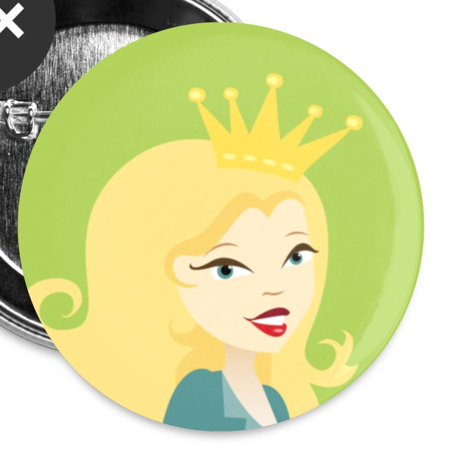 The official Soap Queen Pin