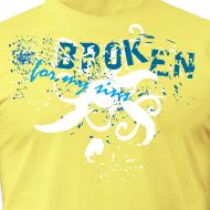 Design ~ Broken For My Sins (Artistic Christian Series)
