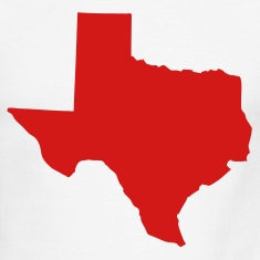 White/red State of Texas solid Men