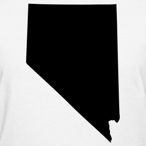 White State of Nevada solid Women - Women's T-Shirt