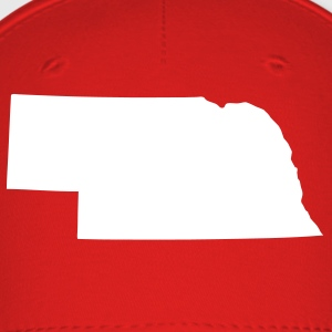 Red State of Nebraska solid Cap - Baseball Cap