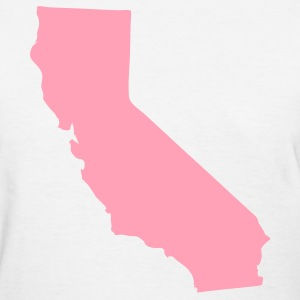 White State of California solid Women - Women's T-Shirt