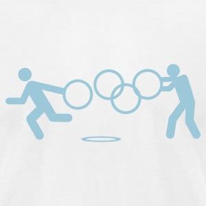 Looters of the Rings - Men's T-Shirt by American Apparel